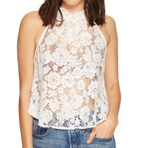 NWT Free People Lace Top Small